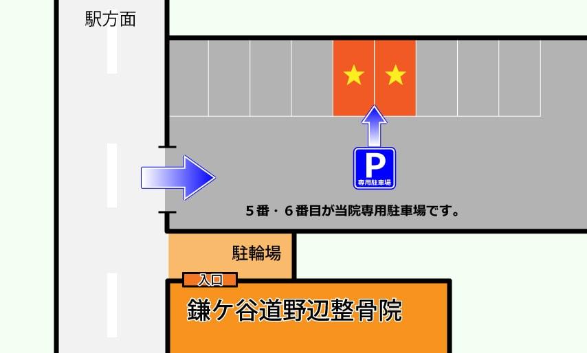 専用駐車場案内